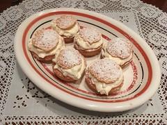 Muffins mit Zitronen-Mascarpone-Creme