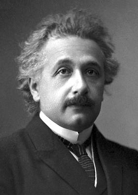 由於在光電效應方面的研究成果,愛因斯坦獲授予1921年諾貝爾物理學獎。(Wikipedia Commons)