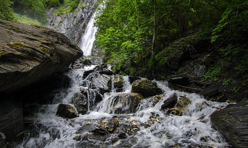 Venosc Waterfalls