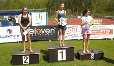 Kolínský půlmaraton vyhráli Krunka a Krčálová