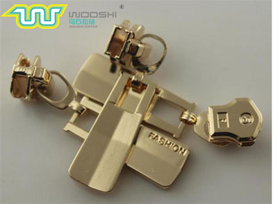 wooshi plated zipper heads