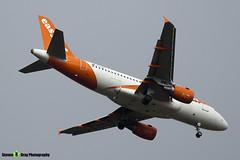 G-EZDK - 3555 - Easyjet - Airbus A319-111 - Luton M1 J10, Bedfordshire - 2018 - Steven Gray - IMG_6695