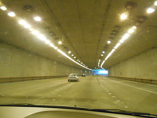 A California Road Tunnel in San Francisco
