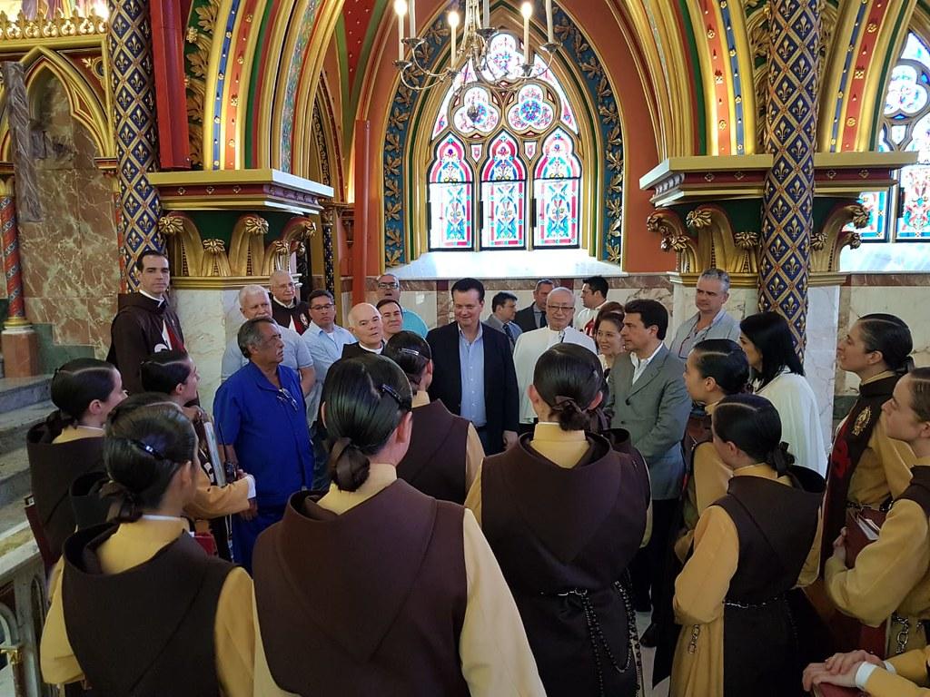 Visita ao templo Arautos do Evangelho em Caieiras/SP - 03 de março de 2018