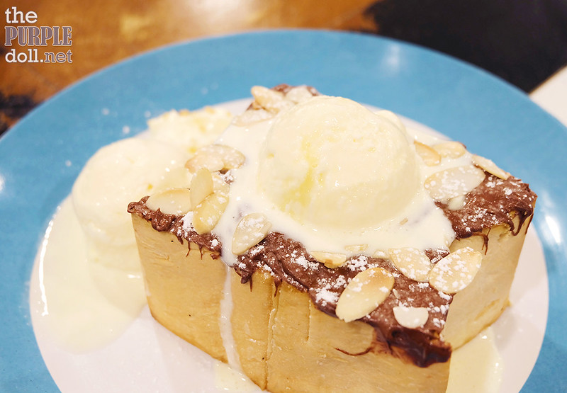 Cafe Shibuya Nutella Toast Regular