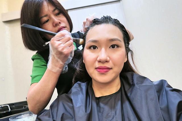 Beijing 101: Applying PuriScalp Mask
