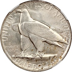 1935 Connecticut Half Dollar reverse