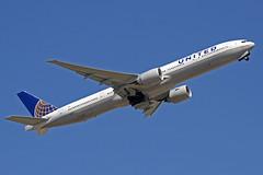 United Airlines Boeing 777-322(ER) N2331U New Spirit of United LHR 30-
