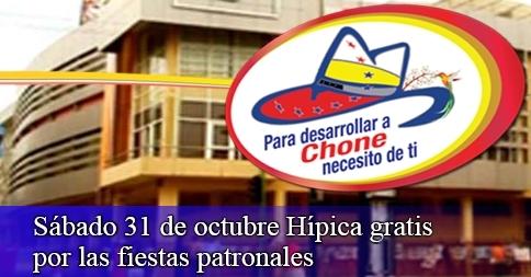 Sábado 31 de octubre Hípica gratis por las fiestas patronales