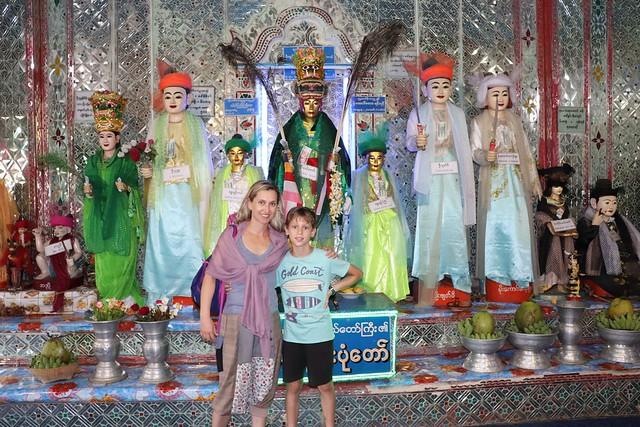 Monte Popa desde Bagan