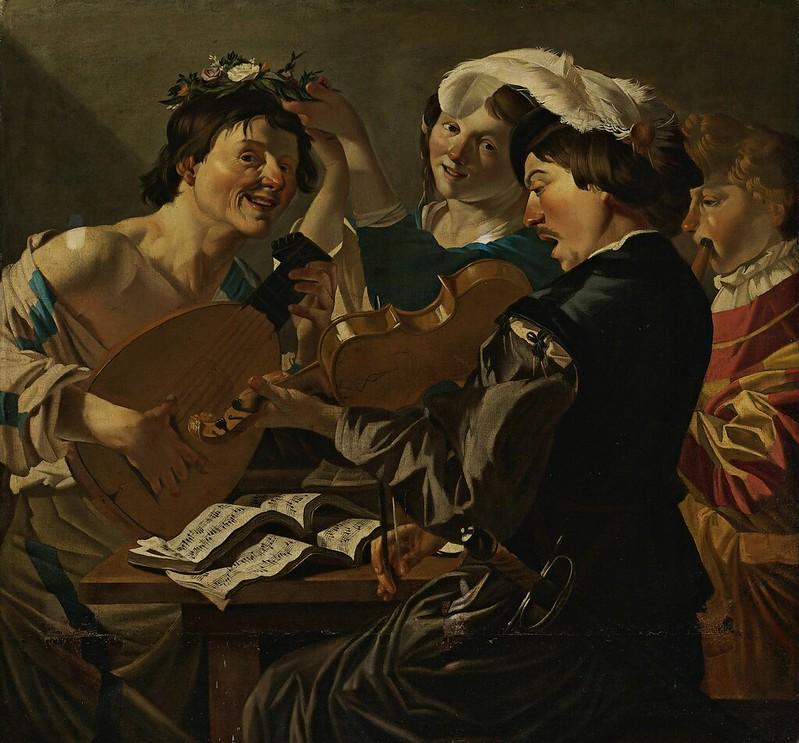 Studio of Dirck van Baburen - The Concert