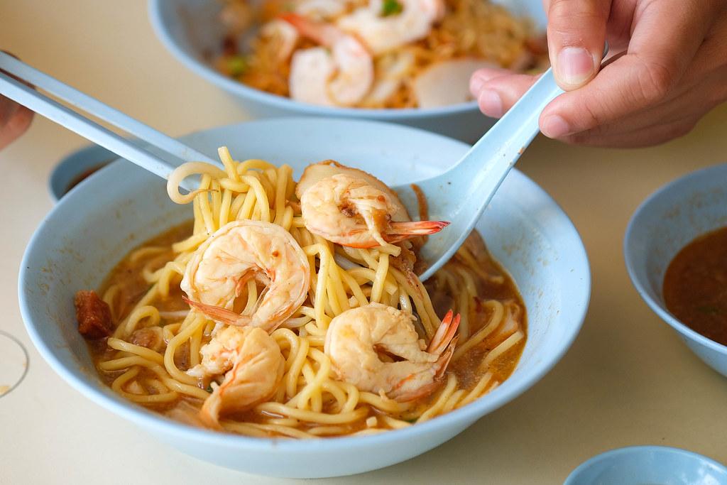 失速虾梅伊soup_1 Seng Huat面条