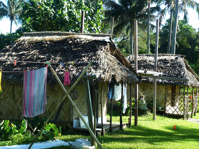 Adventurous travellers don't mind rough bungalow accommodation, and see the bigger picture of why they are travelling.