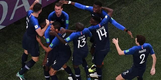 Kalahkan Kroasia Dengan Skor 4-2, Prancis Juara Piala Dunia 2018