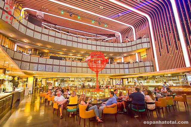 os melhores mercados gastronômicos em Madri: Platea
