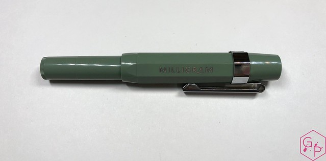 Kaweco x Milligram Skyline Sage Fountain Pen Review @Kaweco_Germany @MilligramStore 5