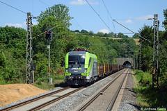 Eilendorf 16.07.18 1016 016 CAT mit Güterzug von Leoben nach Schaarbee