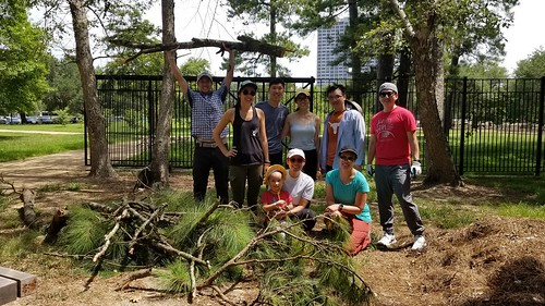Community Service - Hermann Park Conservancy Japanese Garden Maintenance - 07.21.2018