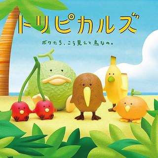 鼻要把我們吃掉QQ,我們其實是鳥啦!熊貓之穴超可愛新作「熱帶水果鳥(トリピカルズ)」08月登場!