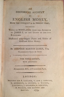 Leake 3rd edition title page
