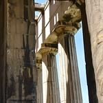 Afbeelding van Temple of Hephaistos in de buurt van Athene.