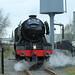 The Flying Scotsman leaving the East Lancs