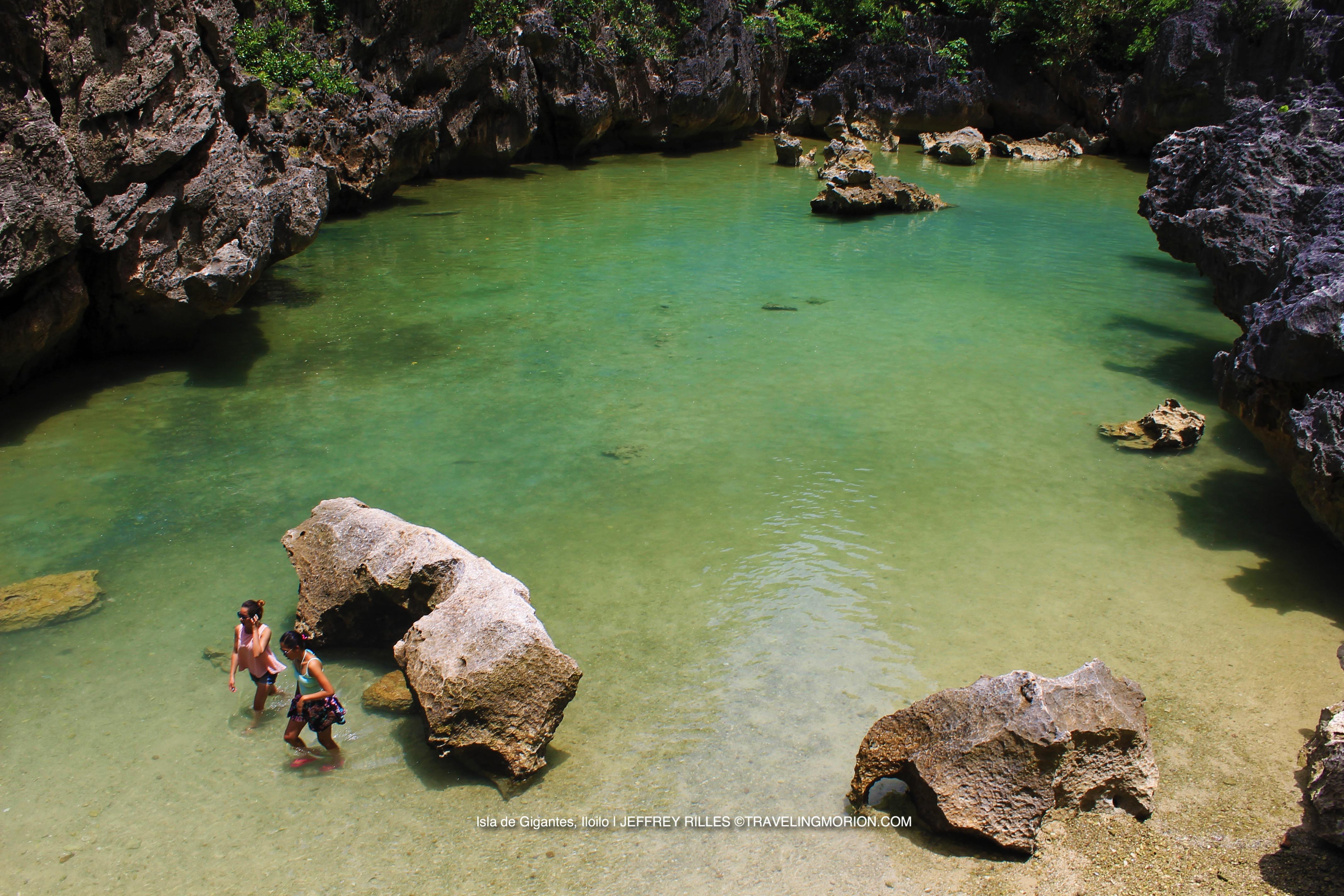Tangke Salt Lagoon, Islas de Gigantes