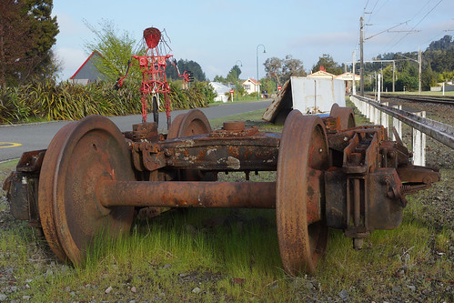 Railway bits and pieces - Ohakune
