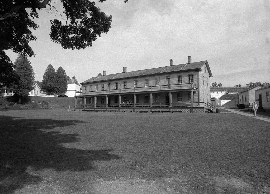 The Enlisted Barracks