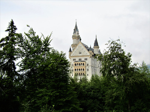 view on Neuschwanstein Castle