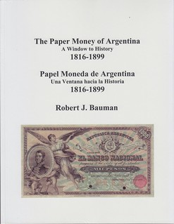 Paper Money of Argentina book cover