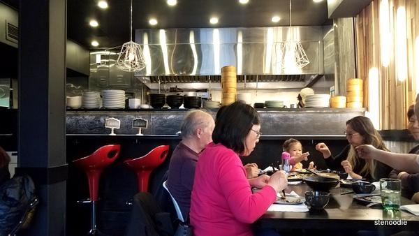 Azyun Restaurant dining area