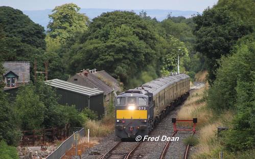 Irish Rail 072 at Ballyhale.