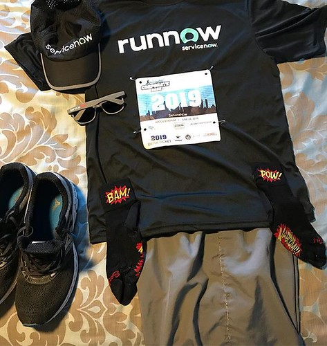 New kit ready for Thursday's Corporate Dash. runnow.
