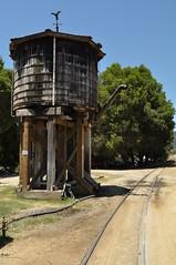 Water Tank - Roaring Camp & Big Trees Railroad