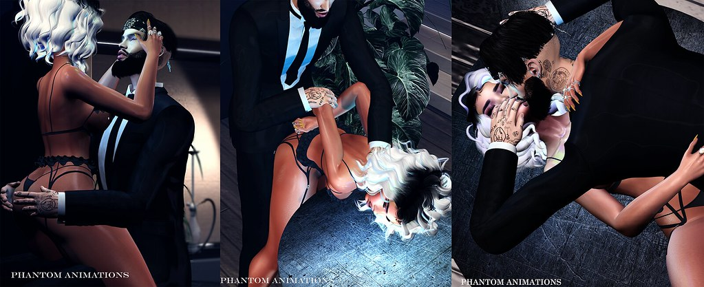 Phantom Animtions - Sexual Seduction Pack - TeleportHub.com Live!