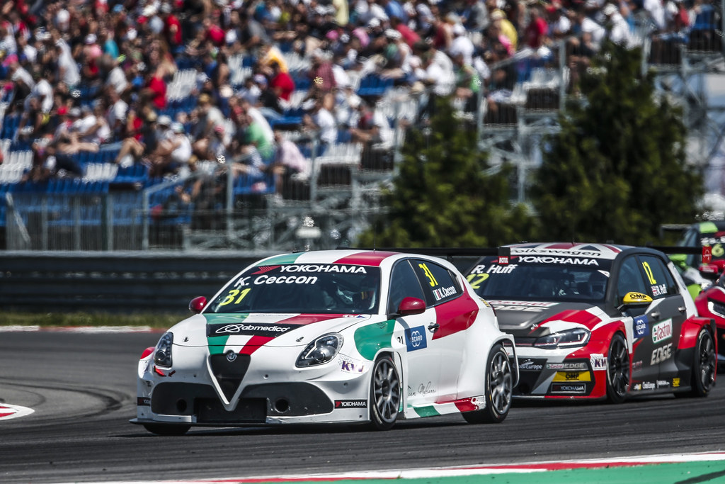 31 CECCON Kevin, (ita), Alfa Romeo Giulietta TCR team Mulsanne, action during the 2018 FIA WTCR World Touring Car cup race of Slovakia at Slovakia Ring, from july 13 to 15 - Photo Jean Michel Le Meur / DPPI