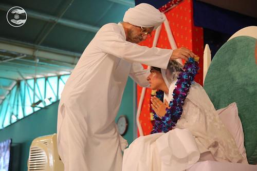 Welcome by President, SNM, Gobind Singh Ji from Jalandhar, Punjab