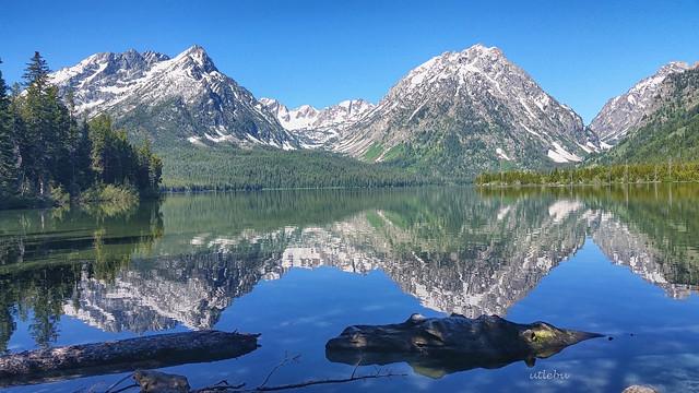 Leigh Lake Tetons