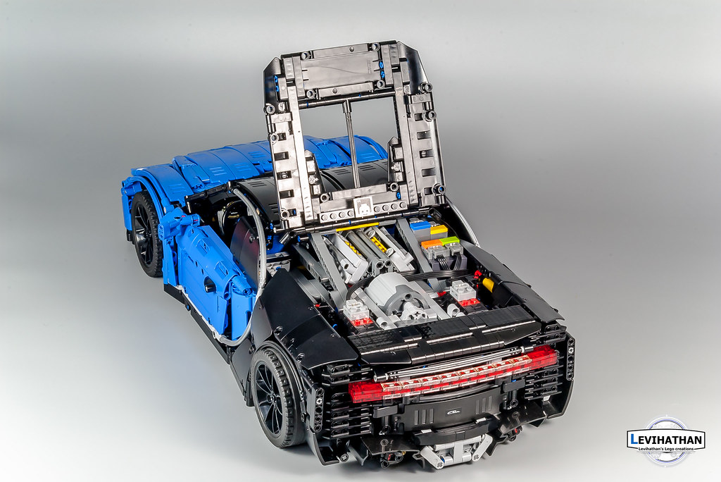 Bugatti Chiron 18 Lego Technic And Model Team Eurobricks Forums