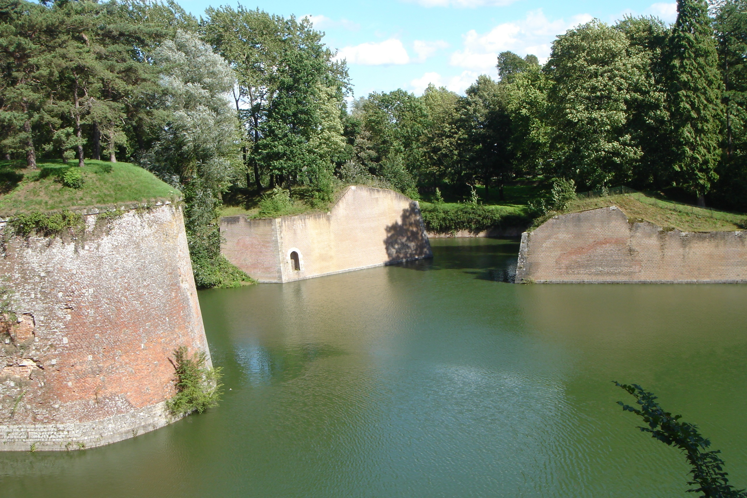 Ramparts of Le Quesnoy, France