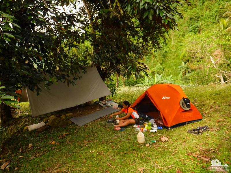 Mt. Samboryo campsite