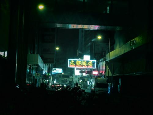 midnight at Tsim Sha Tsui