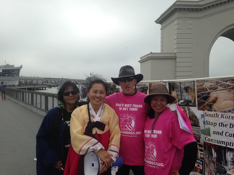 San Francisco, Fisherman's Wharf Leafleting Event – July 1, 2018