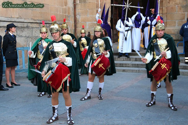 Procesión del Miércoles Santo. Cofradía de los Ramos