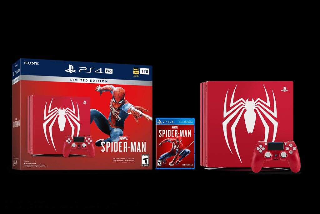 Limited Edition Marvel's Spider-Man PlayStation 4 Pro Bundle