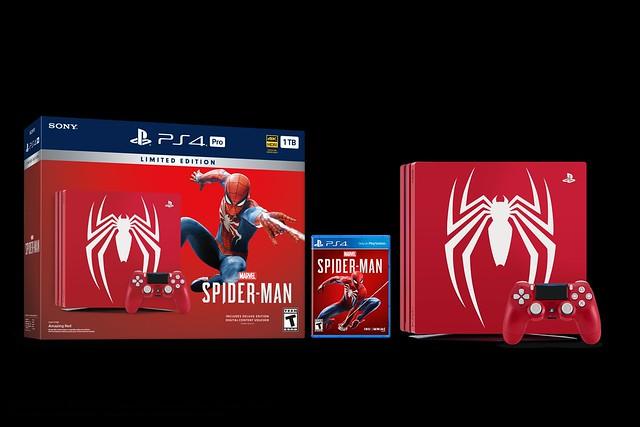 Limited Edition Marvel's Spider-Man PlayStation 4 Pro Bundle