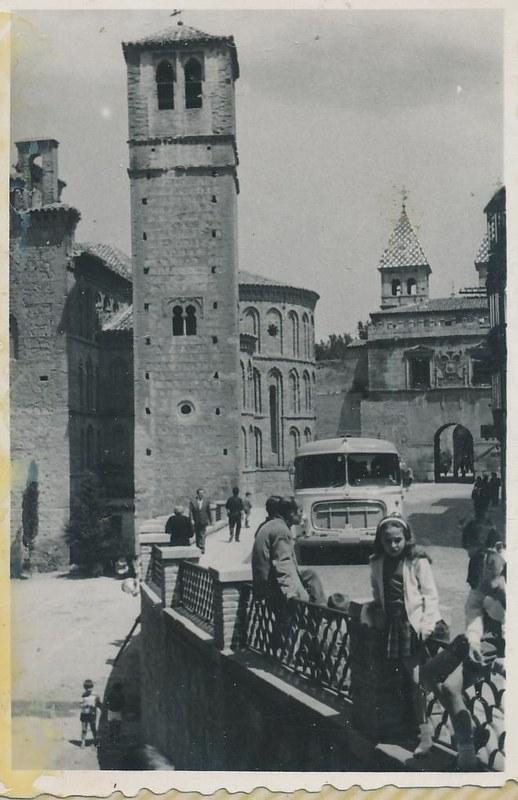 Santiago del Arrabal en 1962. Fotografía de Julián C.T.