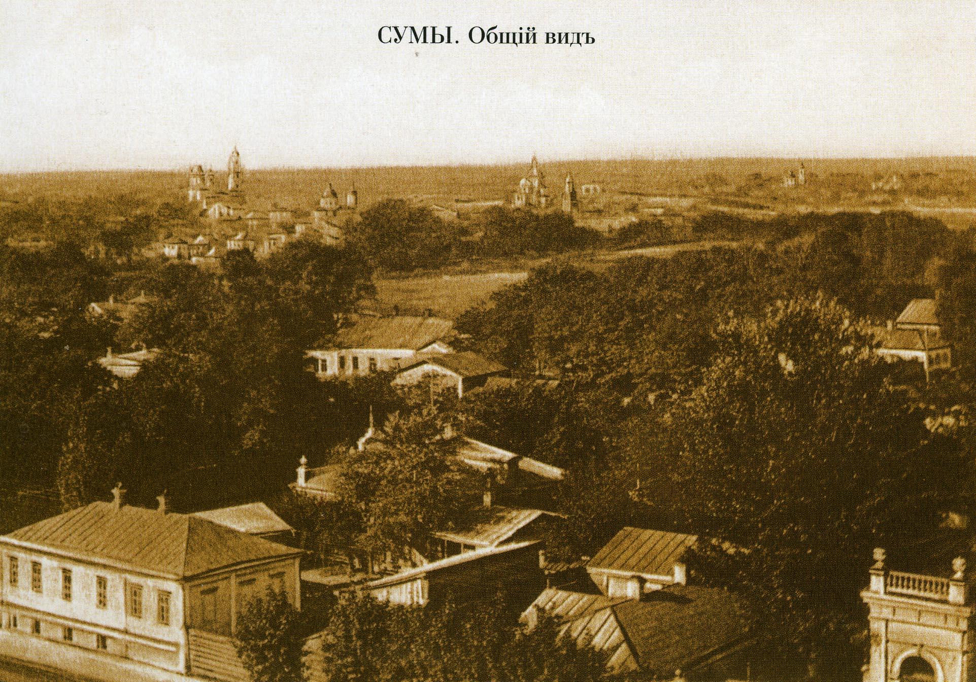 Панорама с колокольни Троицкого собора