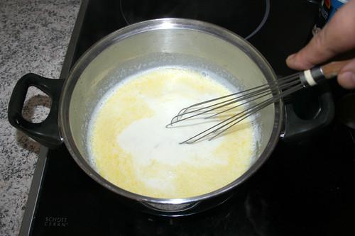 33 - Verrühren & heiß werden lassen / Stir & let become hot